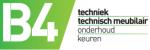 B4 technisch meubilair logo